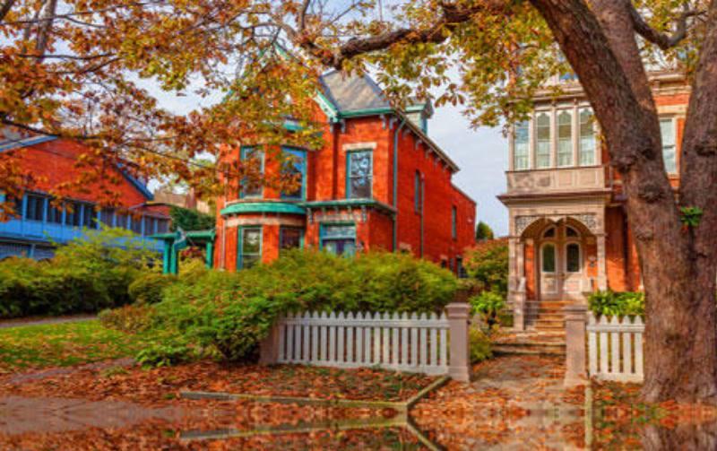 красивый дом в канаде